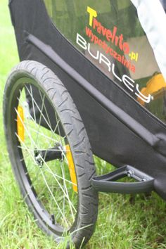 Burley Bee to najtańsza, markowa przyczepka rowerowa na polskim rynku. Tania i prosta (w najlepszym znaczeniu tego słowa). #przyczepkarowerowa; #burley