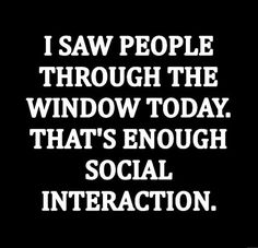Introverted Memes For Those Who Hate Other People - Memebase - Funny Memes Introvert Quotes, Introvert Problems, Infj, Funny Shit, The Funny, Funny Humor, Funny Stuff, Sarcastic Quotes, Me Quotes