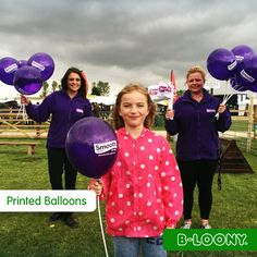 Printed Branded Promotional Balloons and Flags for Smooth Radio