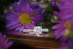 Naledi white gold engagement ring at Crews Jewelry
