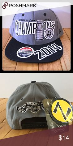 best service 0e641 b0972 NWT LA KINGS 2014 Stanley Cup Champions SnapBack NWT! This SnapBack will  definitely help you