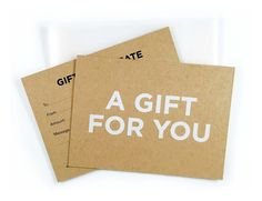 9 best our gift certificates images on pinterest gift vouchers