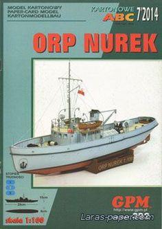 "ORP Nurek [GPM 392] - 2 Апреля 2017 - ""Модели из бумаги"""