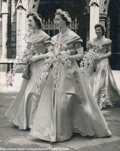 Princess Margaret as bridesmaid   by romanbenedikhanson
