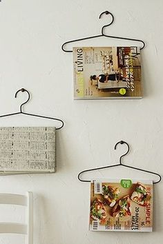 where to put those magazines... quite like this idea...