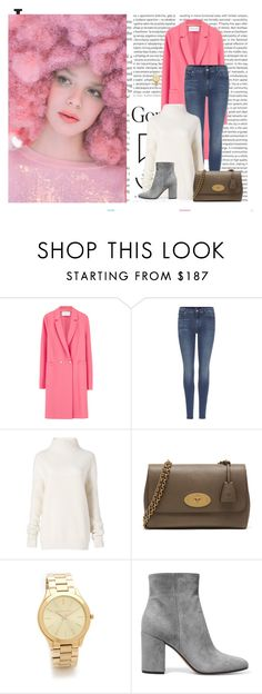 """""""Senza titolo #4481"""" by ladyhysteria ❤ liked on Polyvore featuring Oris, Ashish, Harris Wharf London, 7 For All Mankind, Diane Von Furstenberg, Mulberry, Michael Kors and Gianvito Rossi"""