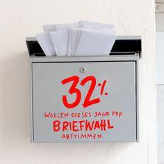 Wir haben die Wahl am 24. September. Mach mit! Und wenn Du lieber zu Hause bleibst, dann stimme per Brief ab. Das machen seit 1990 immer mehr Wahlbeteiligte.  Laut Bundeswahlleiter sollte der Wahlschein möglichst früh beantragt werden - spätestens...