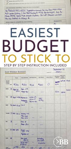 If you're struggling with your finances and saving money feels impossible, This can help you set up the easiest budget for beginners. Frugal living doesn't have to suck if you use your personality and the rewards are built into the program. We can show you how to make an easy budget you can actually stick to. These printable sheets and step by step instructions will walk you through everything you need to get started creating a budget and saving money. Budgeting printable Budget Forms, Spending Tracker, Planner Organization, Organizing, Budget Binder, Best Planners, Create A Budget, Time Management Tips, Budgeting Finances