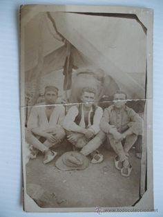 SOLDADOS ESPAÑOLES , BUXALACH, 1926