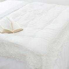 Clayre /& FED romantique Coussin Housse Taie d/'oreiller une marguerite Maison de campagne 50 X 50 cm