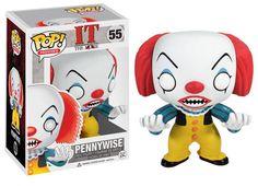 POP Figur Pennywise - Stephen Kings ES - Movie / Film Figur