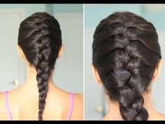 THE CLASSIC FRENCH BRAID - YouTube