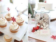 Dulces nieve para una fiesta de invierno / Snowy sweets for a winter party