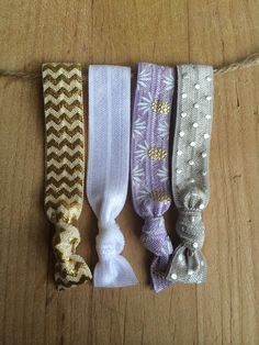 "The ""Drew Ties"" Elastic Hair Ties by TheJarShoppe"