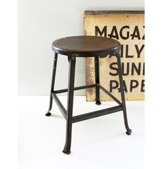 never enough stools.