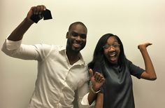 """Mr. and Mrs. Stevens get the keys to their new #Atlanta home! """"As a first time home buyer I felt well informed and prepared in the home buying process."""" #NACAPurchase #AmericanDream 3.625% APR"""