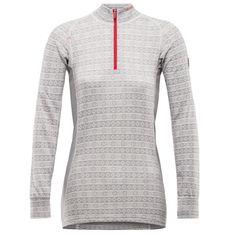 Alnes woman zip neck - Grey - Devold of Norway Tights, Zip, Grey, Mens Tops, Jackets, Norway, Women, November, Fashion