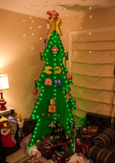 8 bit Christmas Tree -- you can put this up right now.