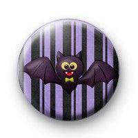 BowTie Halloween Bat Button Badges halloween  button badges pin badges chapas koolbadges £0.75