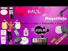 YouTube-HAUL DE MAQUILLAJE JULIO