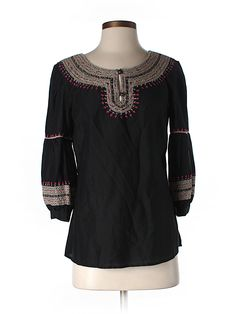 Lucky Brand 3/4 Sleeve Blouse - 71% off only on thredUP
