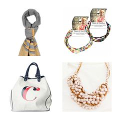 Fashionable gifts that give back--great ideas for hard to shop for mothers and mothers-in-law too.