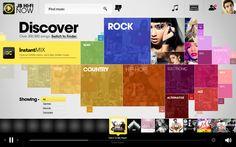 JB Hi-Fi Now by Marshall J. Downey, via Behance