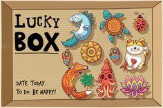 Lucky box by PenguinHouse on @creativemarket