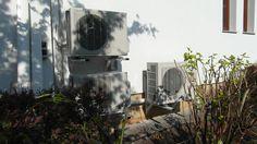 Jednostki zewnętrzne systemu klimatyzacji firmy Fujitsu