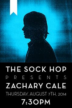 Zachary Cale plays The Sock Hop. Such a great show! Stay tuned for future shows at The Sock Hop.