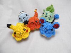 Pokemon Amigurumi Cupcakes by love-your-spleen.deviantart.com on @deviantART