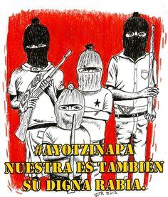 ¿Suena familiar? Subcomandante Marcos en Ayotzinapa. Abril de 2006.