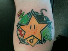 Super Mario Tattoo on Global Geek News.