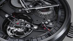 Academy Tourbillon Georges Favre-Jacot, el reloj de Zenith Watches que muestra su mecanismo con absoluta transparencia.  #ZenithWatches #altarelojería #innovación