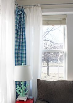 How To Make Curtain Rods from Conduit