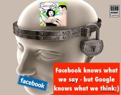 Aikomuksetko yksityisiä? Eivät, jos googlaat. Re: privacy Gerd Leonhard