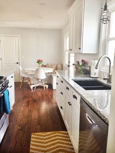 I could handle wood flooring in the kitchen. Always thought I'd like tile..