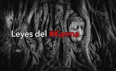 """El karma es el ciclo de tus acciones. Lo que sea que vaya, da la vuelta. Observe sus acciones, intenciones, pensamientos y compruebe estos hechos: 1. Ley de causa y efecto Lo que desees para los demás también te pasará a ti. Si deseas la paz y el amor a los demás, obtendrás paz y amor en tu vida. Esto también se conoce como la """"Ley de Causa y Efecto"""". 2. Ley de la creación Eres uno con el Universo, y tus pensamientos e intenciones moldean la evolución de la creación. Lo que te rodea... Yoga Mantras, Dalai Lama, Reiki, Mystic, Coaching, Mindfulness, Inspirational Quotes, Messages, Sayings"""