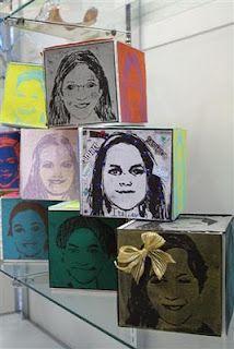 Youcube:The Calvert Canvas: Adventures in Middle School Art! Club D'art, Art Club, Middle School Art Projects, High School Art, Programme D'art, Pop Art, Classe D'art, 8th Grade Art, Ecole Art