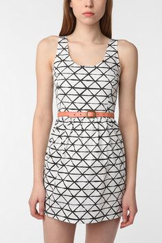 This would be cute with black flats and a cardigan for work