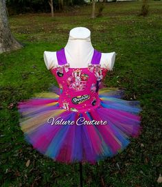 Check out this item in my Etsy shop https://www.etsy.com/listing/489245890/shopkins-inspired-tutu-dress