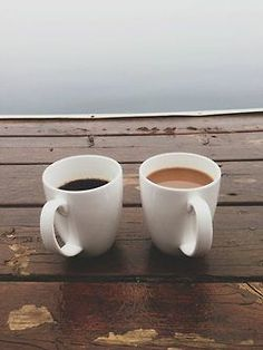Oh, if all days were like this. Sitting on the dock, drinking some coffee with your man...