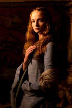 SOPHIE TURNER Actress PHOTO Print POSTER Series Art Game of Thrones X-Men 001