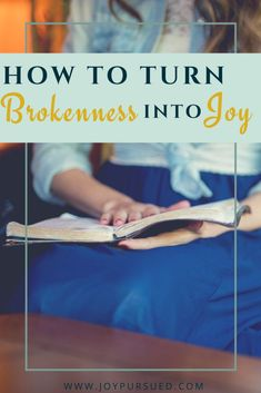 How to Turn Brokenness Into Joy - Kira Bridges Christian Women, Christian Living, Christian Faith, Christian Marriage, Psalm 6, Feeling Broken, Choose Joy, Christian Encouragement, Couple