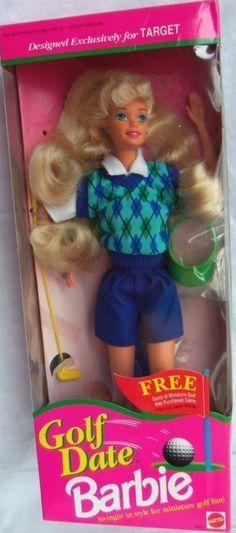 Golf Date Barbie