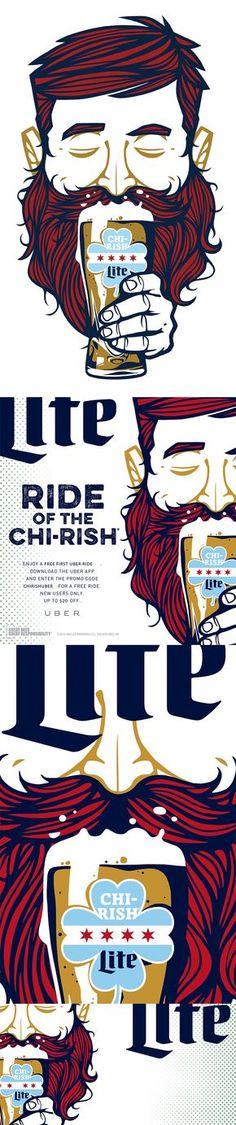 Chirish Beer Miller Lite on Behance