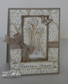 LW Designs: Flashback Friday - A look back featuring many cards created with Retiring Favorite Stampin' Up! stamp sets