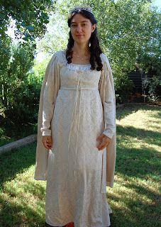 The Story of a Seamstress: The Princess Bride Wedding Dress