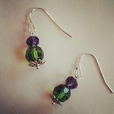 Thistle Earrings - easy and inspiring