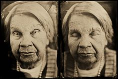 LIFES -wet-plate portraits by Kati Leinonen, via Behance